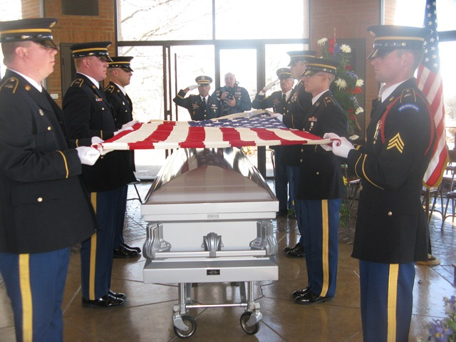 Military Funeral Honors Ceremony